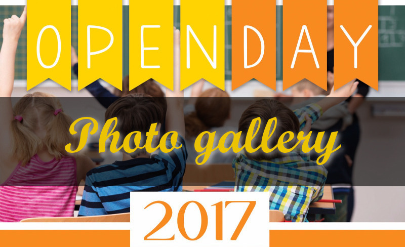 Open Day 2017/2018 Photo gallery