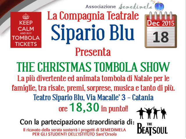 The Christma Tombola Show